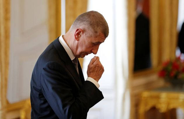Andrej Babiš waitingto be appointed as Czech prime minister on June 6,