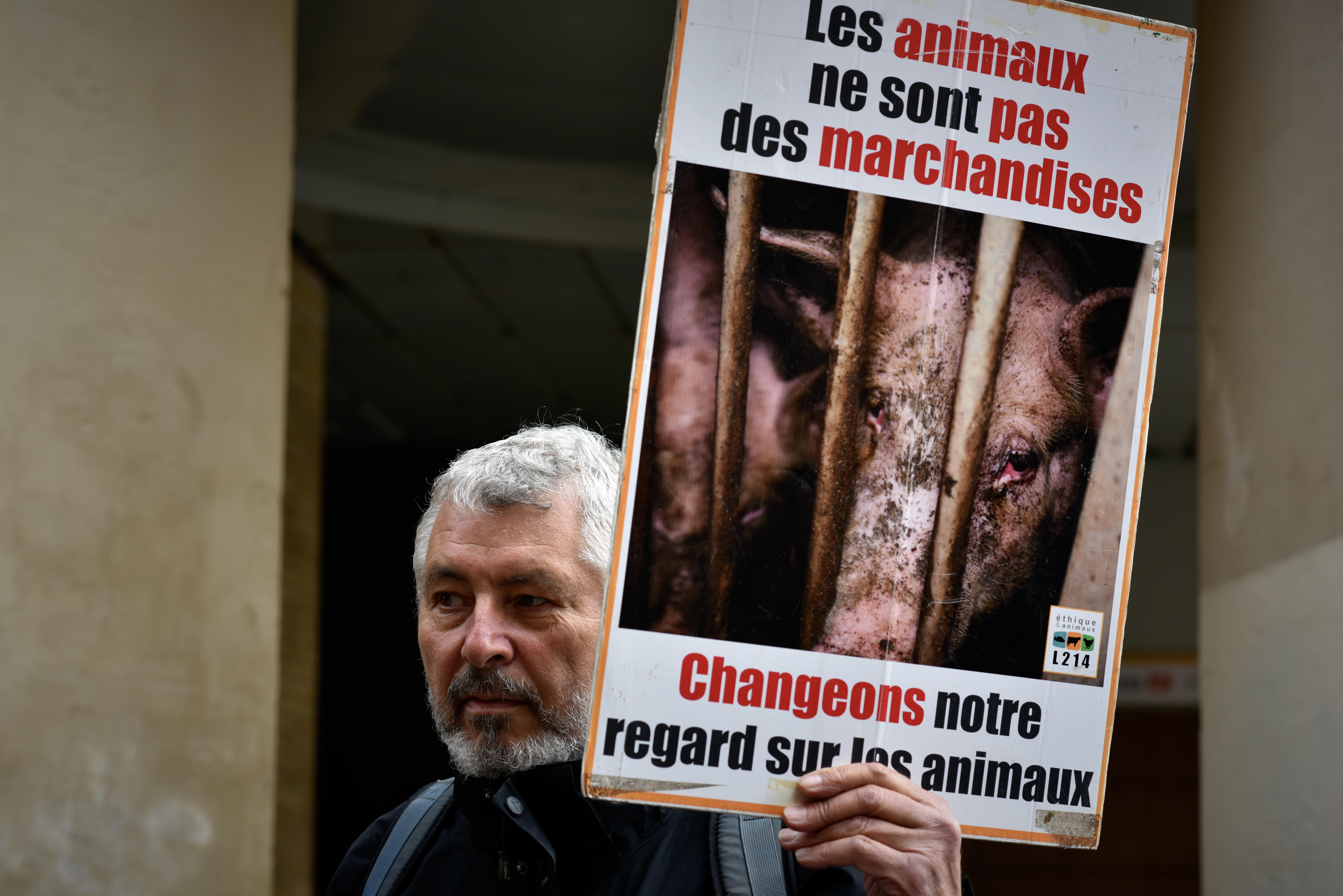 Την προστασία της αστυνομίας απέναντι στις επιθέσεις βίγκαν ζητούν οι κρεοπώλες στη Γαλλία