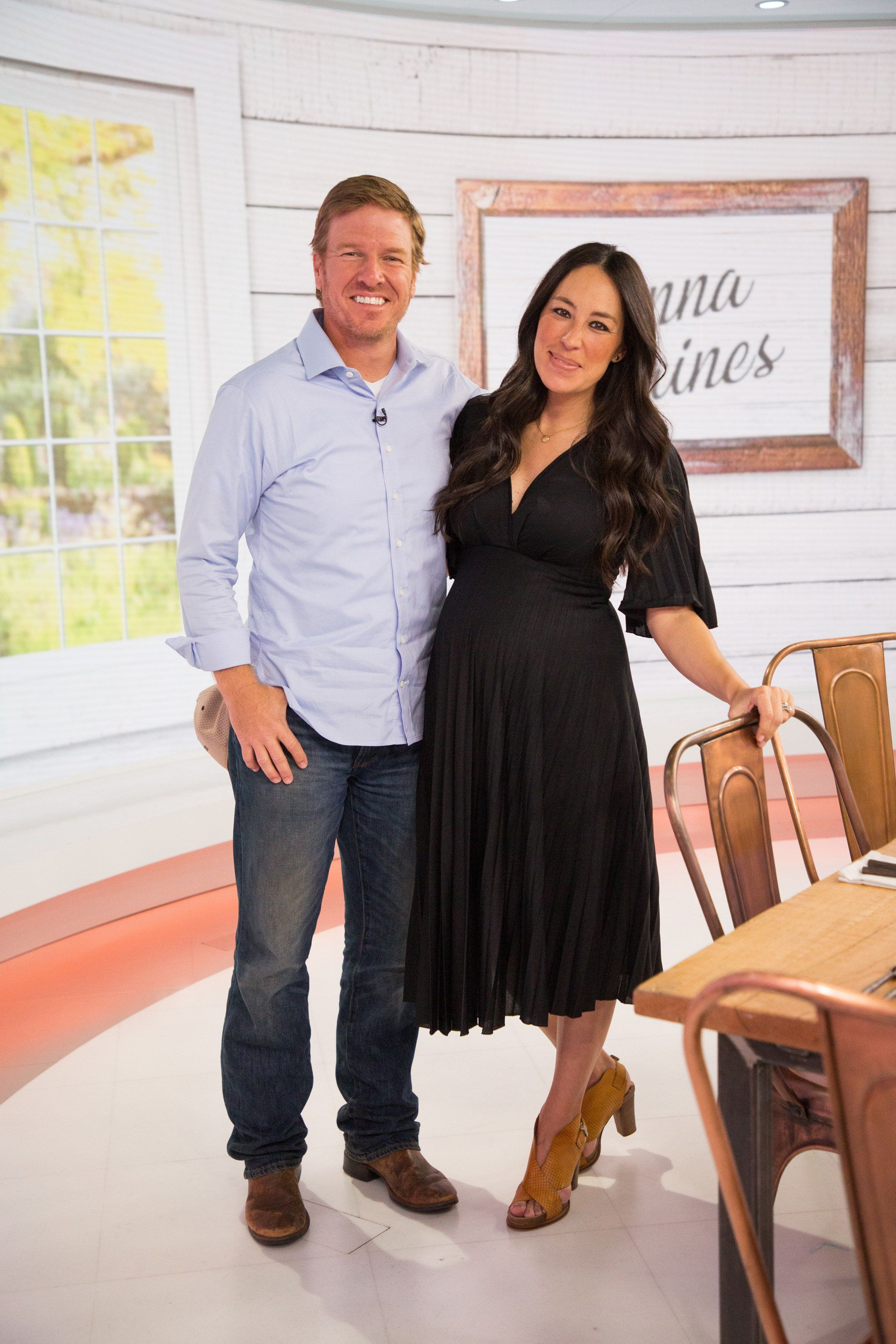 TODAY -- Pictured: Chip and Joanna Gaines on Tuesday, April 24, 2018 -- (Photo by: Nathan Congleton/NBC/NBCU Photo Bank via Getty Images)