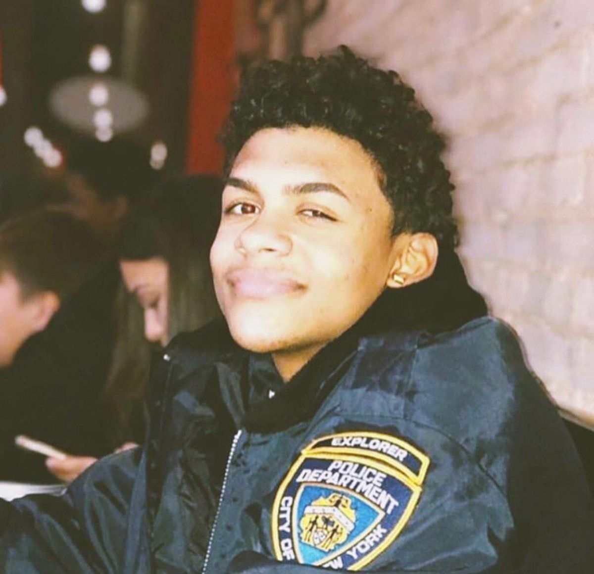 """Lesandro""""Junior"""" Guzman-Feliz, 15, was fatally stabbed on a sidewalk in New York City.He aspired to be a police officer one day, his family said."""
