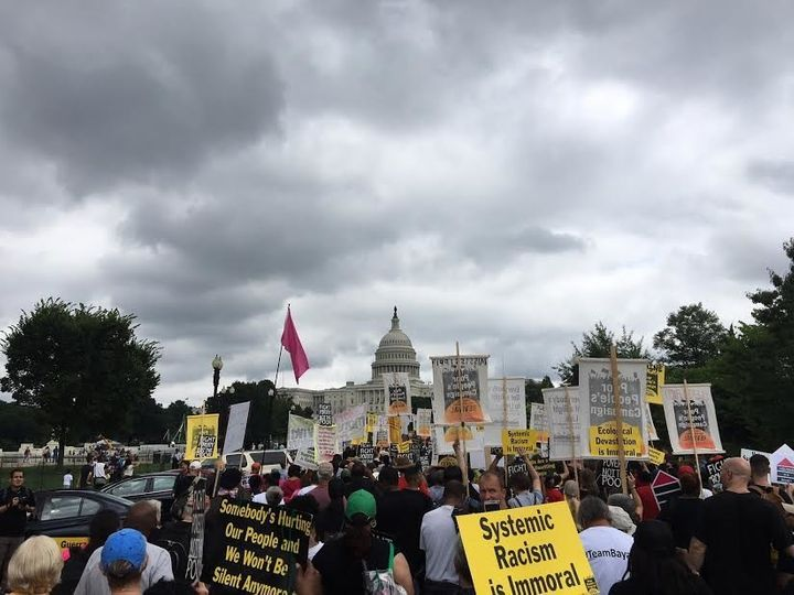 The Poor People's Campaign rally in Washington, June 23.