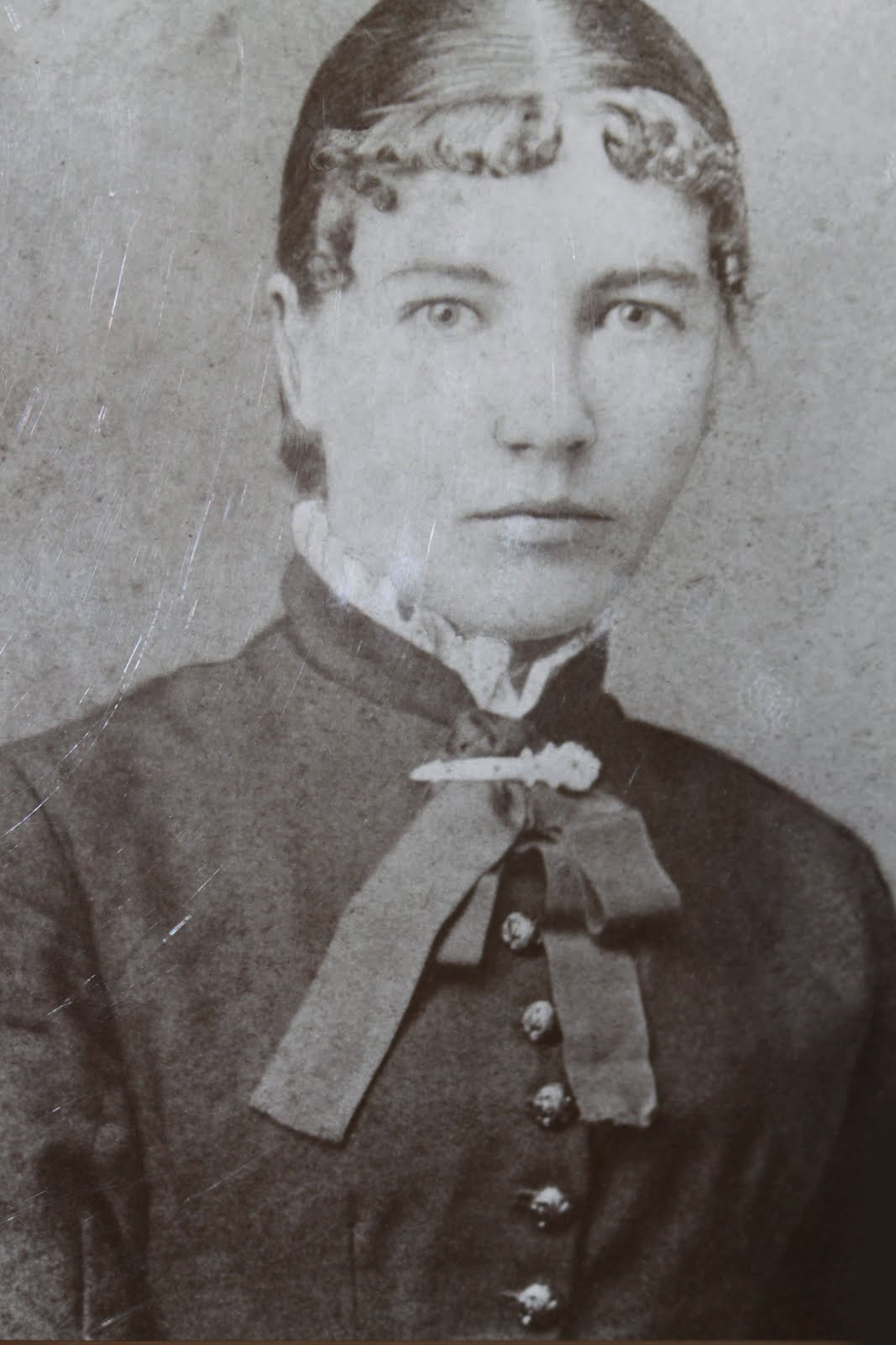 Laura Ingalls Wilder (1867-1957) as schoolteacher, 1887. Found in the collection of Laura Ingalls Wilder Museum, Walnut Grove. Artist :  Anonymous. (Photo by Fine Art Images/Heritage Images/Getty Images)