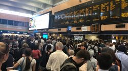 Rail Commuters Braced For Long Night As Searing Heat Cripples Network