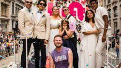 'Queer Eye' Star Bobby Berk Marks Pride By Officiating 3