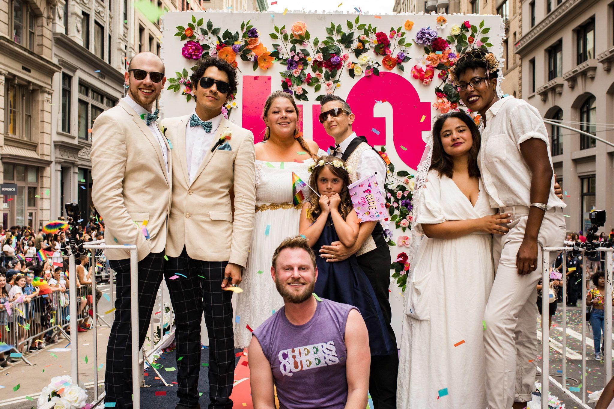 """Queer Eye"" star Bobby Berk said he hoped to ""give back to [the LGBTQ] community"" by officiating the weddings of three same-s"