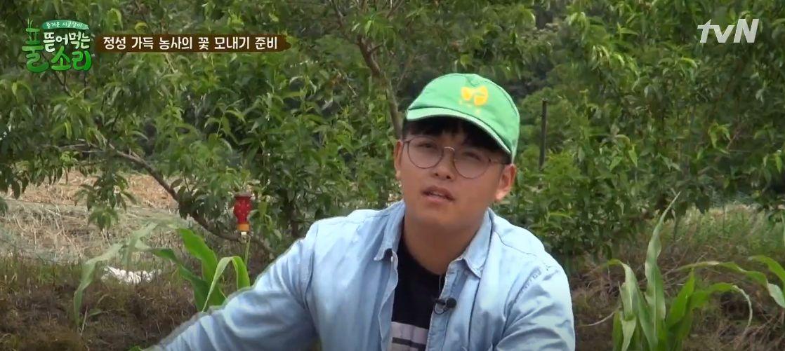 '중학생 농부' 한태웅이 농부의 삶을 선택한
