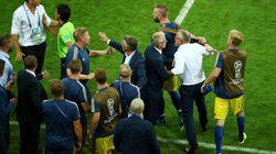 스웨덴전 기적적으로 승리한 독일 대표팀 코치들이 벌인 만행