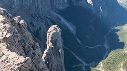 베이스 점핑 사고로 한 남성이 이탈리아 알프스에서