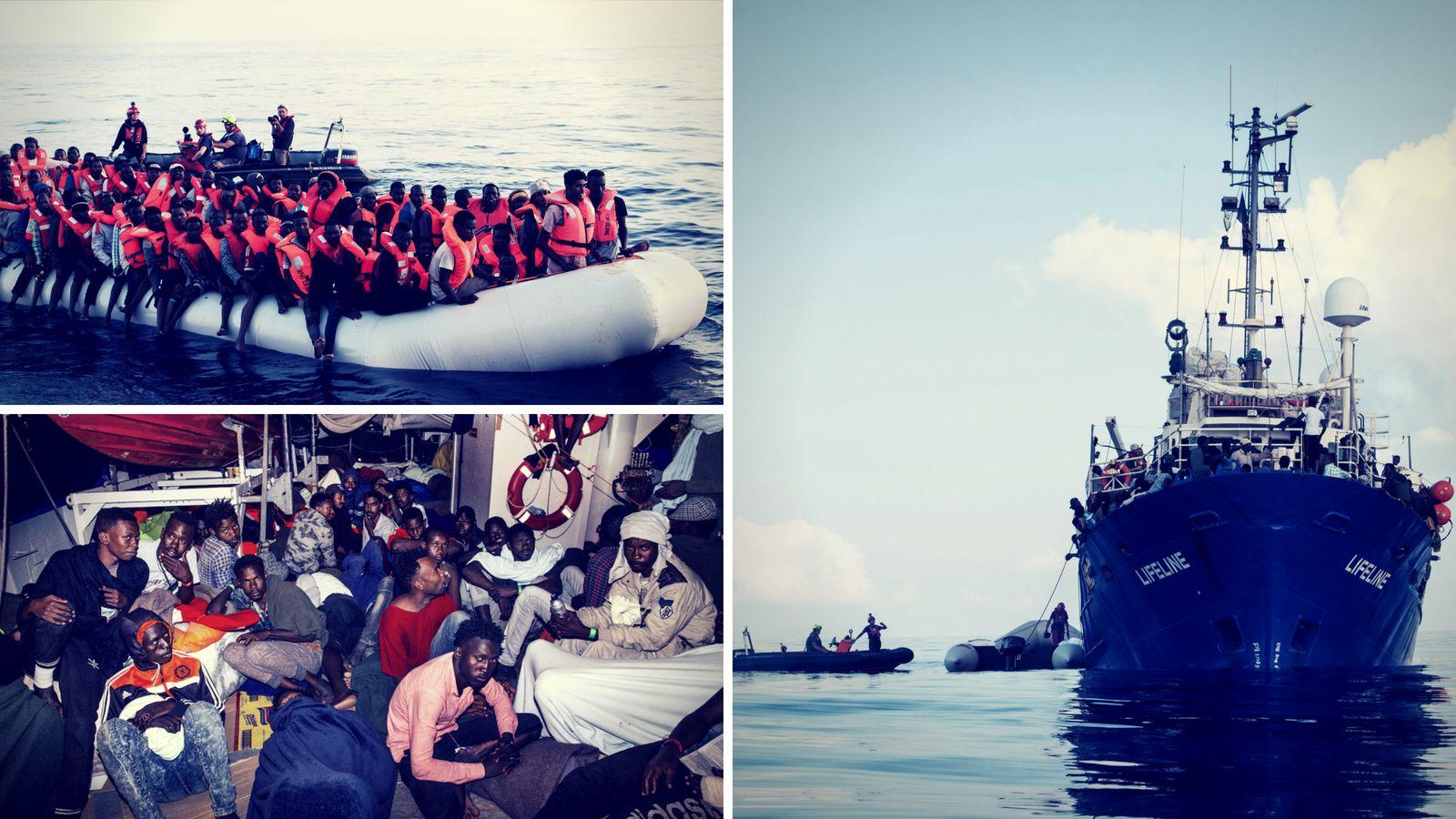 """""""Europa geht über Leichen"""": Nach 5 Tagen darf deutsches Flüchtlingsrettungsboot endlich anlegen"""