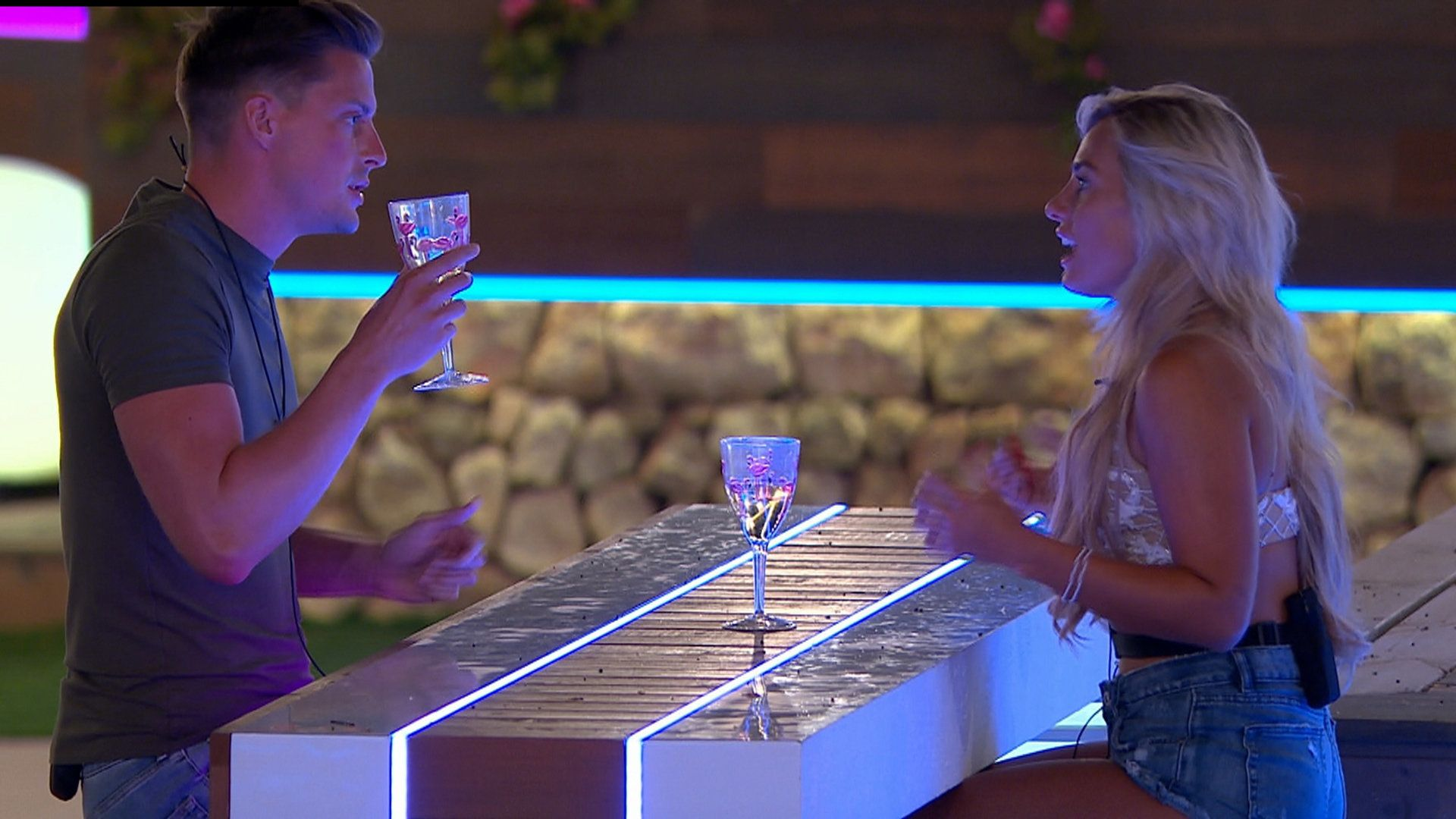 Alex and Ellie were involved in an uncomfortable confrontation on Monday's 'Love