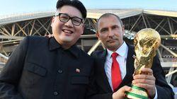 러시아 월드컵에서 '김정은'과 '푸틴'이