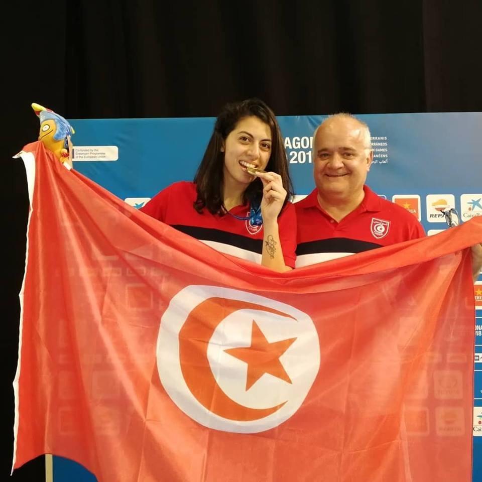 L'escrimeuse Azza Besbes rapporte sa troisième médaille d'or à la