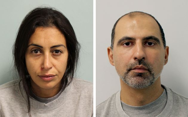 Sabrina Kouider (left) and Ouissem Medouni werejailed for life with a minimum term of 30