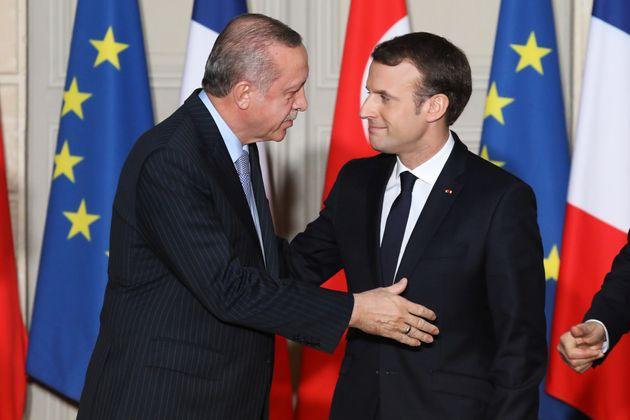 Συγχαρητήρια Μακρόν σε Ερντογάν- ζητά ψυχραιμότερο διάλογο Άγκυρας-