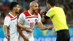 Nordin Amrabat a dit au monde entier tout le mal qu'il pensait de l'arbitrage