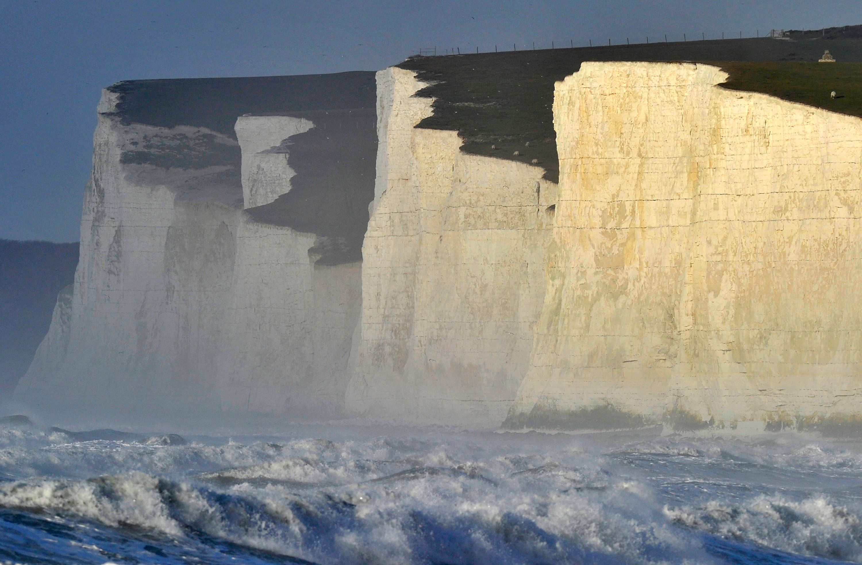 Ten people have died at Beachy Head in Sussex during the past