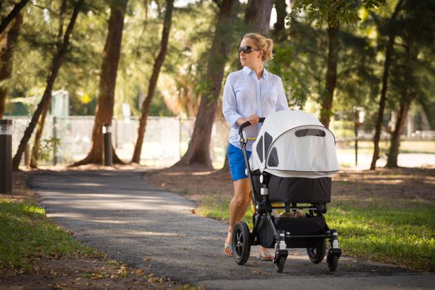 How To Keep Babies Cool In Hot Weather: Don't Cover Their Pram With A