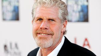 "Cast member actor Ron Perlman arrives at the ""Don't Be Afraid of the Dark"" premiere during the Los Angeles Film Festival in Los Angeles, California, June 26, 2011. REUTERS/Gus Ruelas (UNITED STATES - Tags: ENTERTAINMENT)"