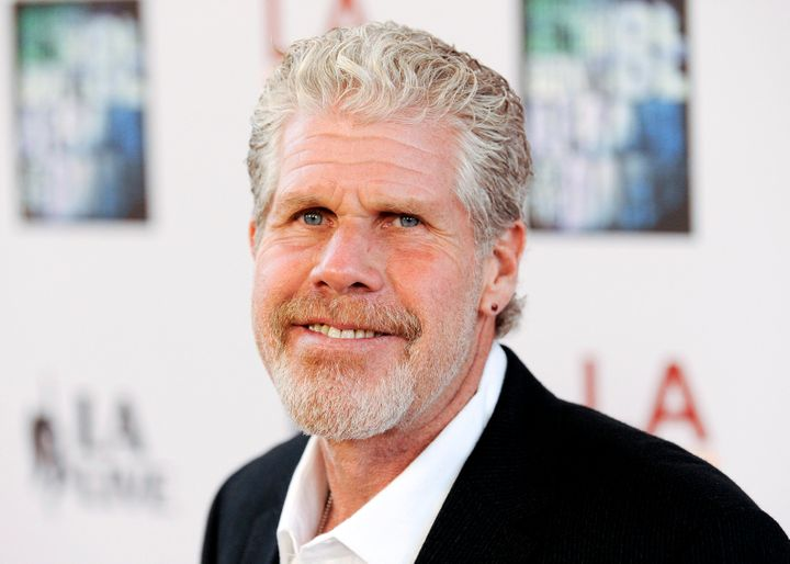 Ron Perlman recalled a urine-soaked handshake with Harvey Weinstein.
