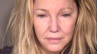 VENTURA, CA - JUNE 24:  (EDITORS NOTE: Best quality available) In this handout photo provided by the Ventura County Sheriffs Office, actress Heather Locklear is seen in a police booking photo after her arrest on two counts of misdemeanor battery on a police officer and EMT June 24, 2018 in Ventura, California.  The incident occurred when emergency personnel responded to a domestic disturbance at Locklears house June 24, 2018 in Thousand Oaks.  Locklear is reportedly being held on USD 20,000 bail.  (Photo by Ventura County Sheriffs Office via Getty Images)