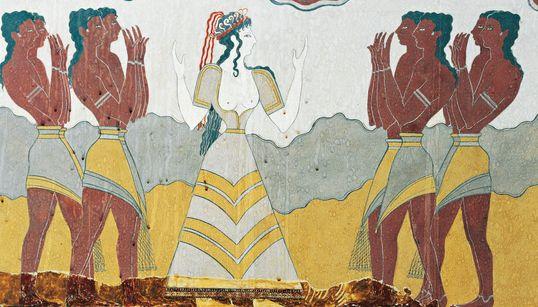Πώς ντύνονταν οι Μινωίτισσες και οι