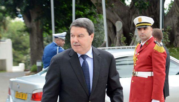 Le général-major Abdelghani Hamel à Alger - Photo