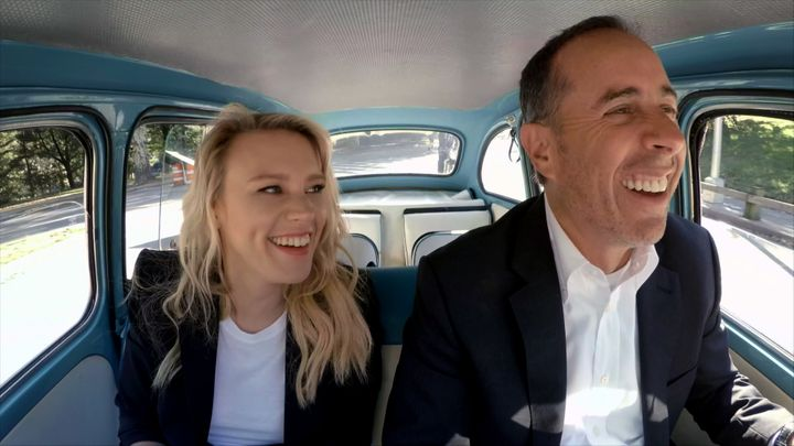 """Comedians in Cars Getting Coffee"" on Netflix."