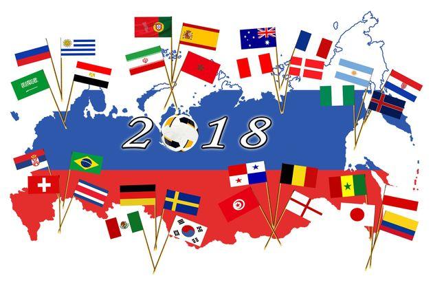 Die Fussball WM in Russland ist in vollem