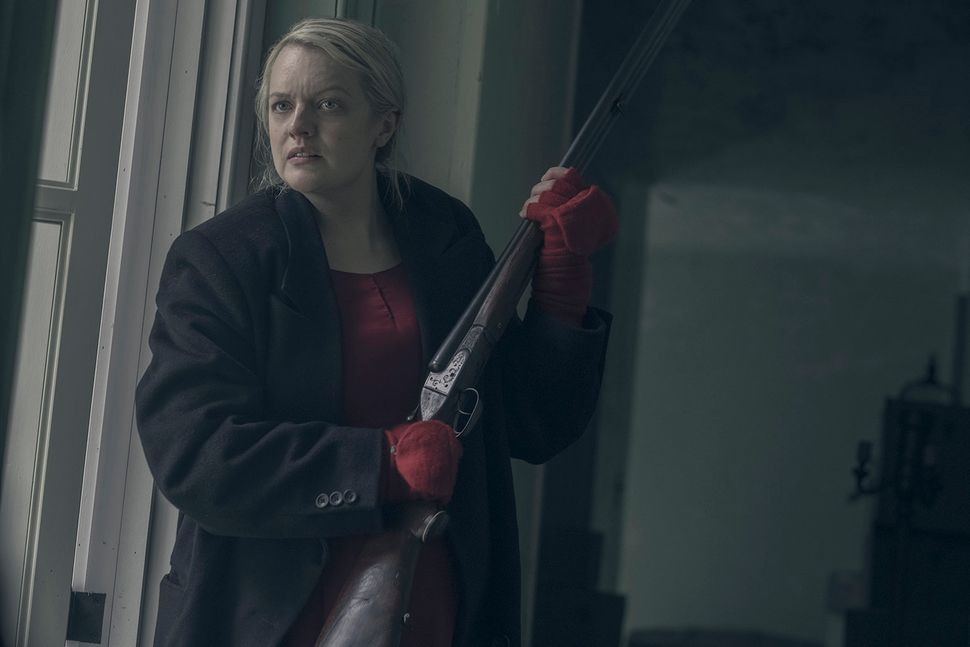 The Handmaid's Tale' Doesn't Sanitize Anything  Its Birthing Scene