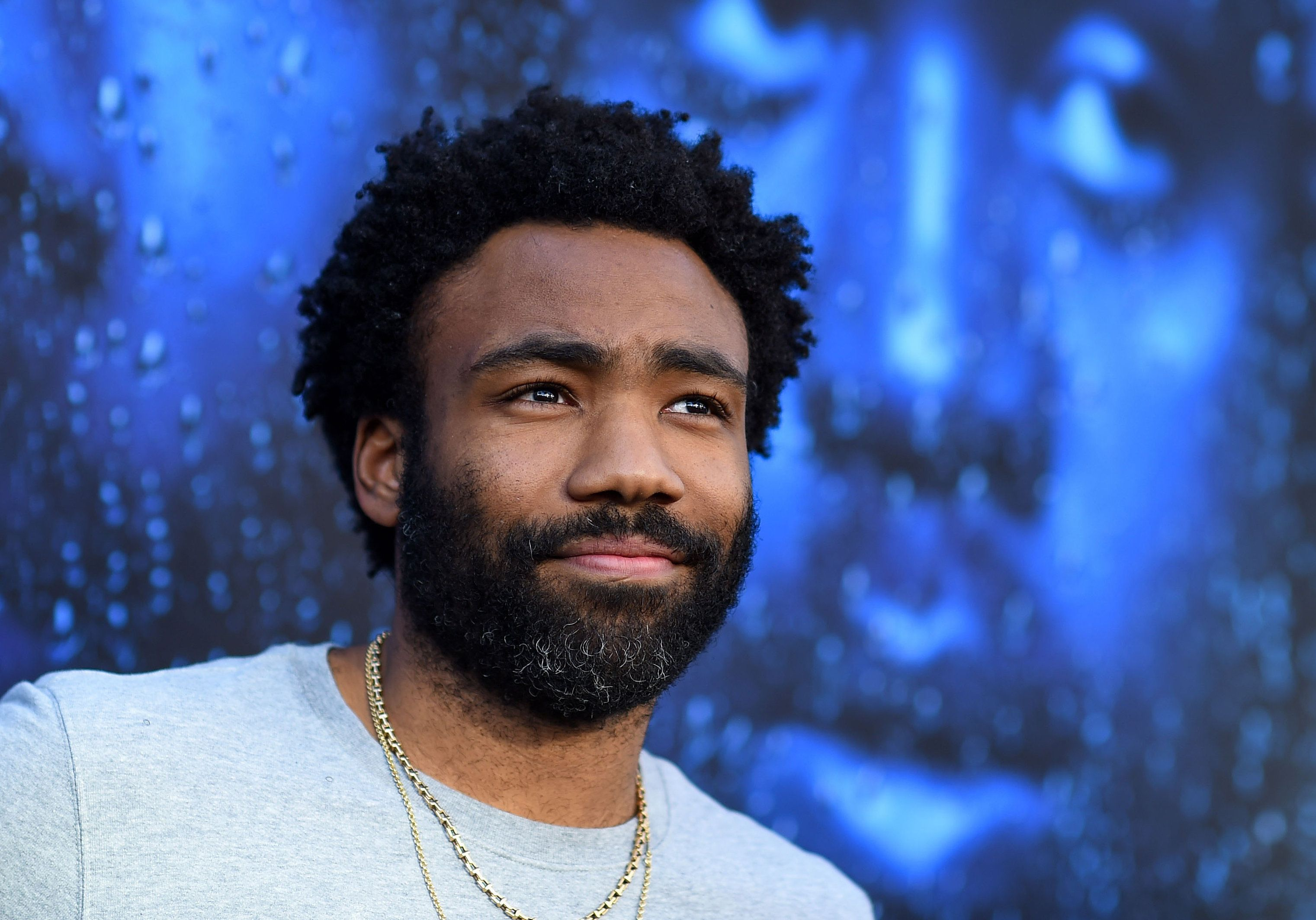 US Actor Donald Glover attends For Your Consideration Red Carpet Event For FX's Atlanta Robbin' Season,  at the Television Academy on June 8, 2018, in North Hollywood, California. (Photo by VALERIE MACON / AFP)        (Photo credit should read VALERIE MACON/AFP/Getty Images)