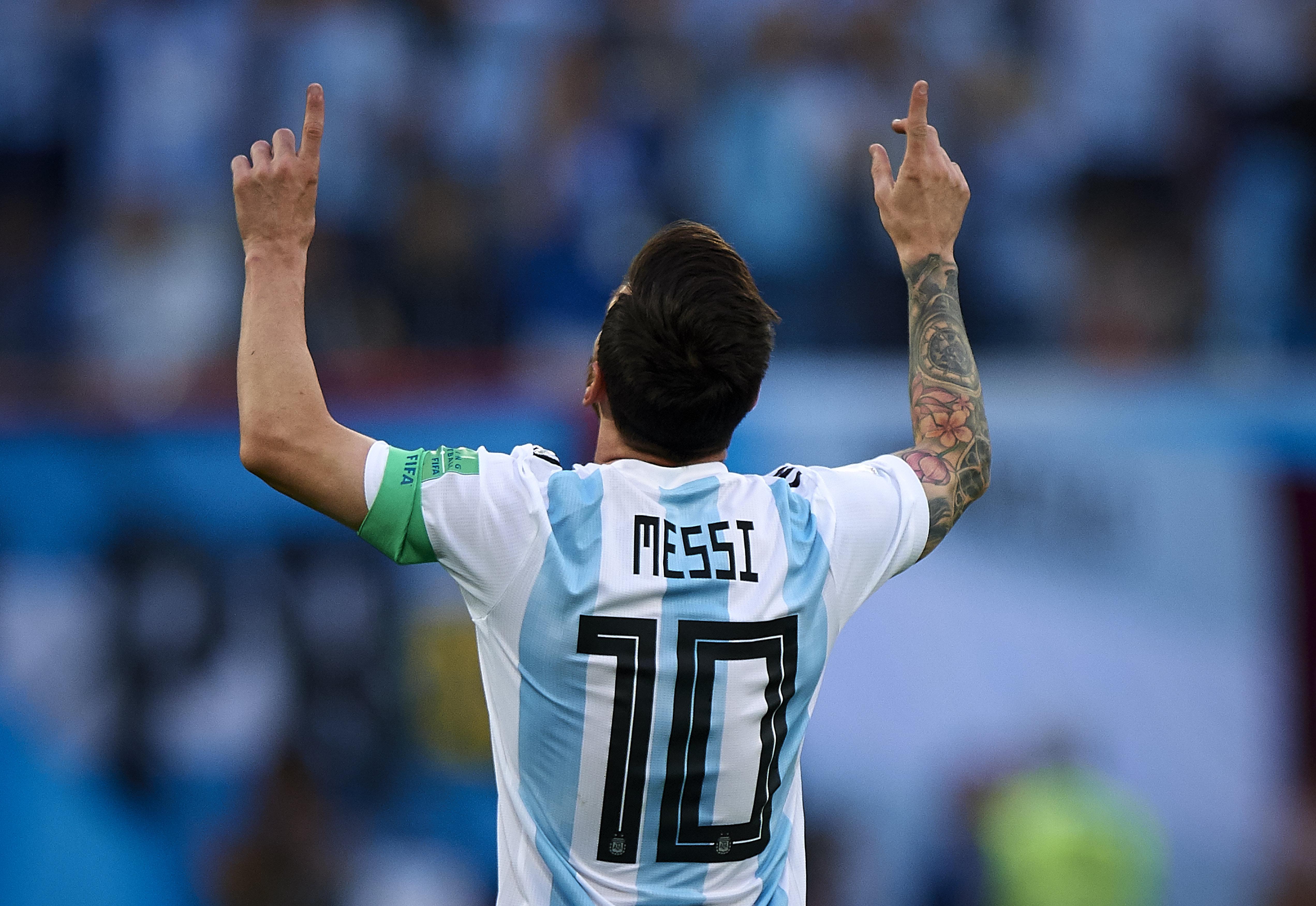 메시의 러시아 월드컵 첫 골이 드디어