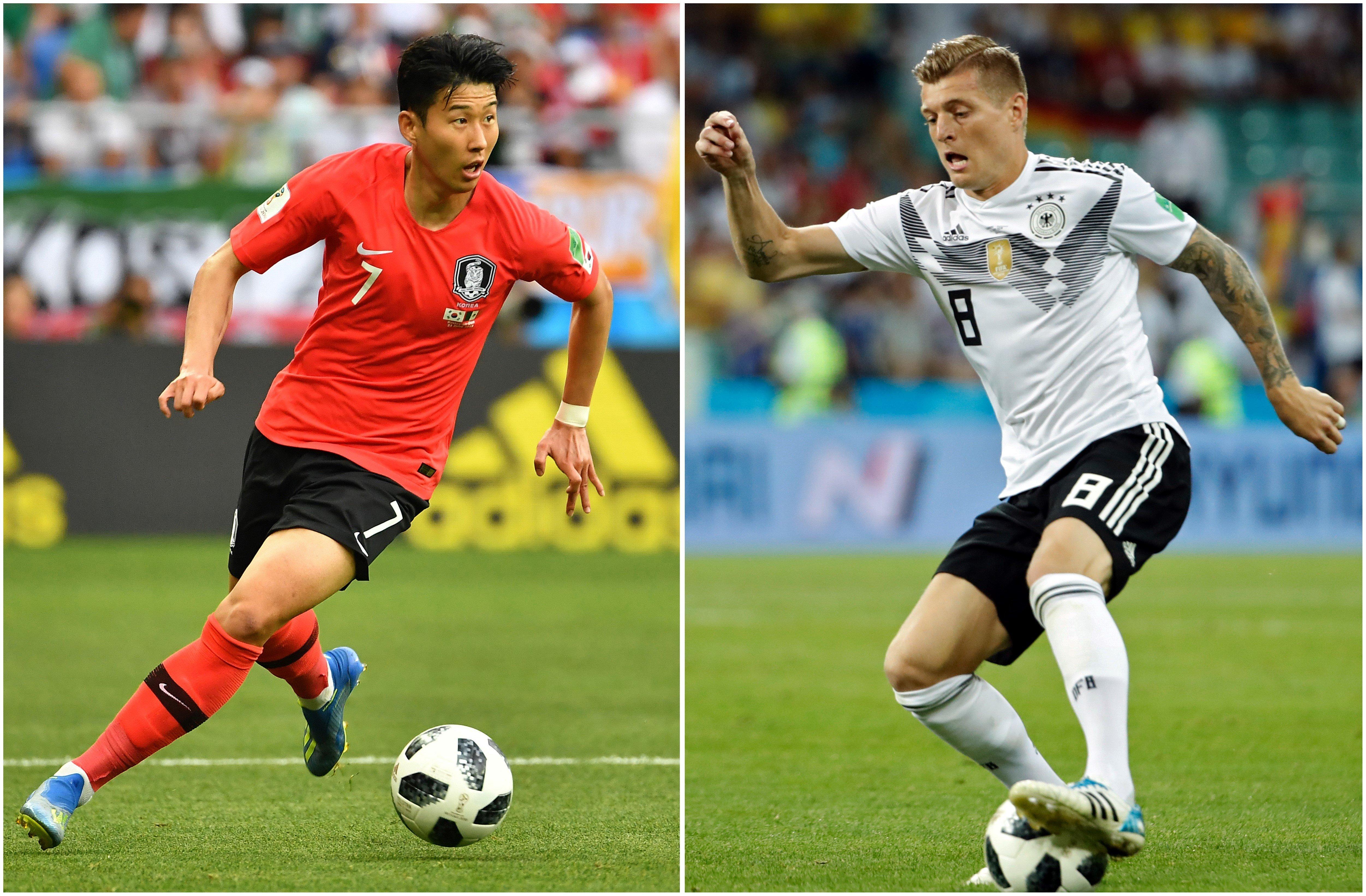 FIFA가 예상한 한국-독일전 선발 명단