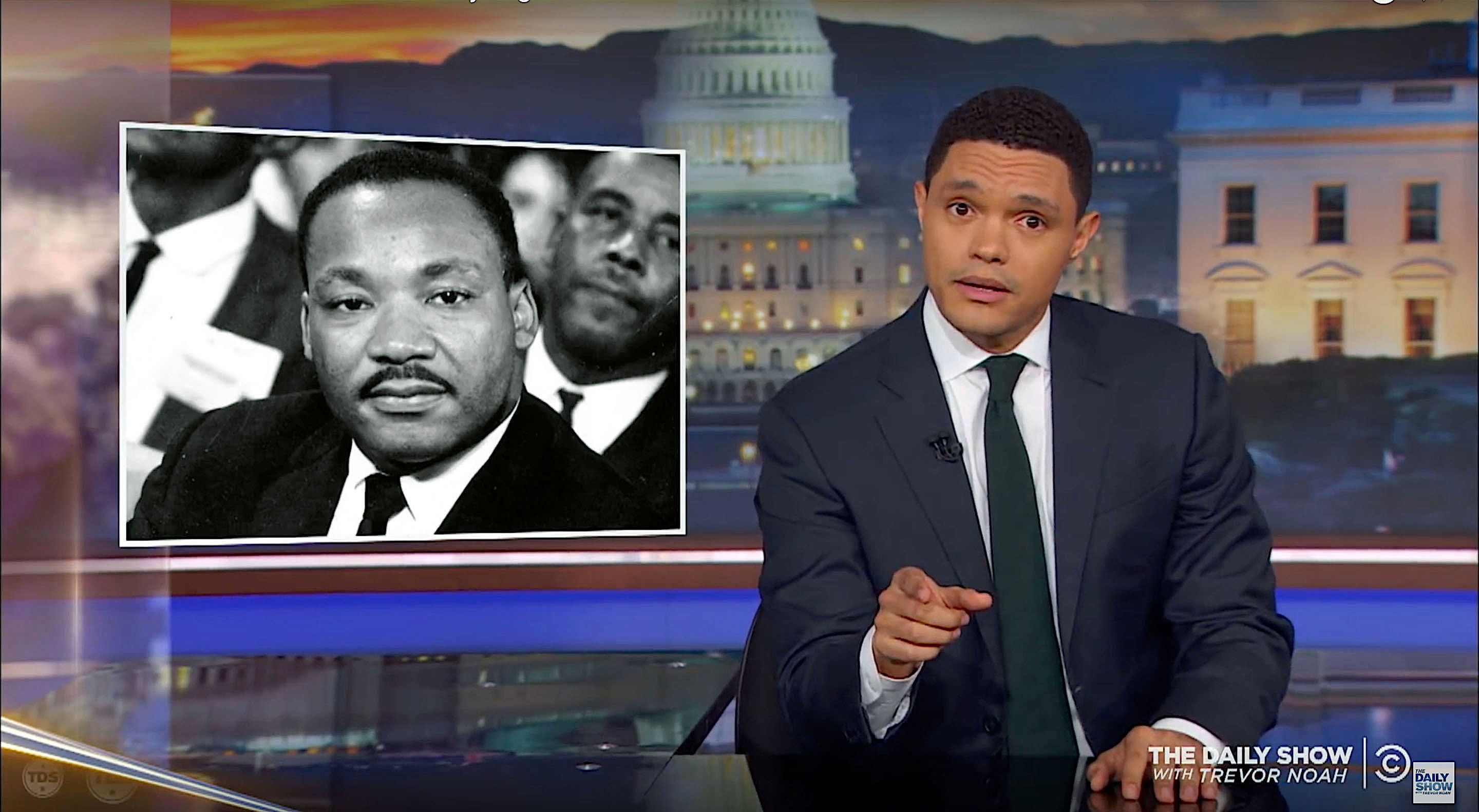 Trevor Noah of The Daily Show talks about civility