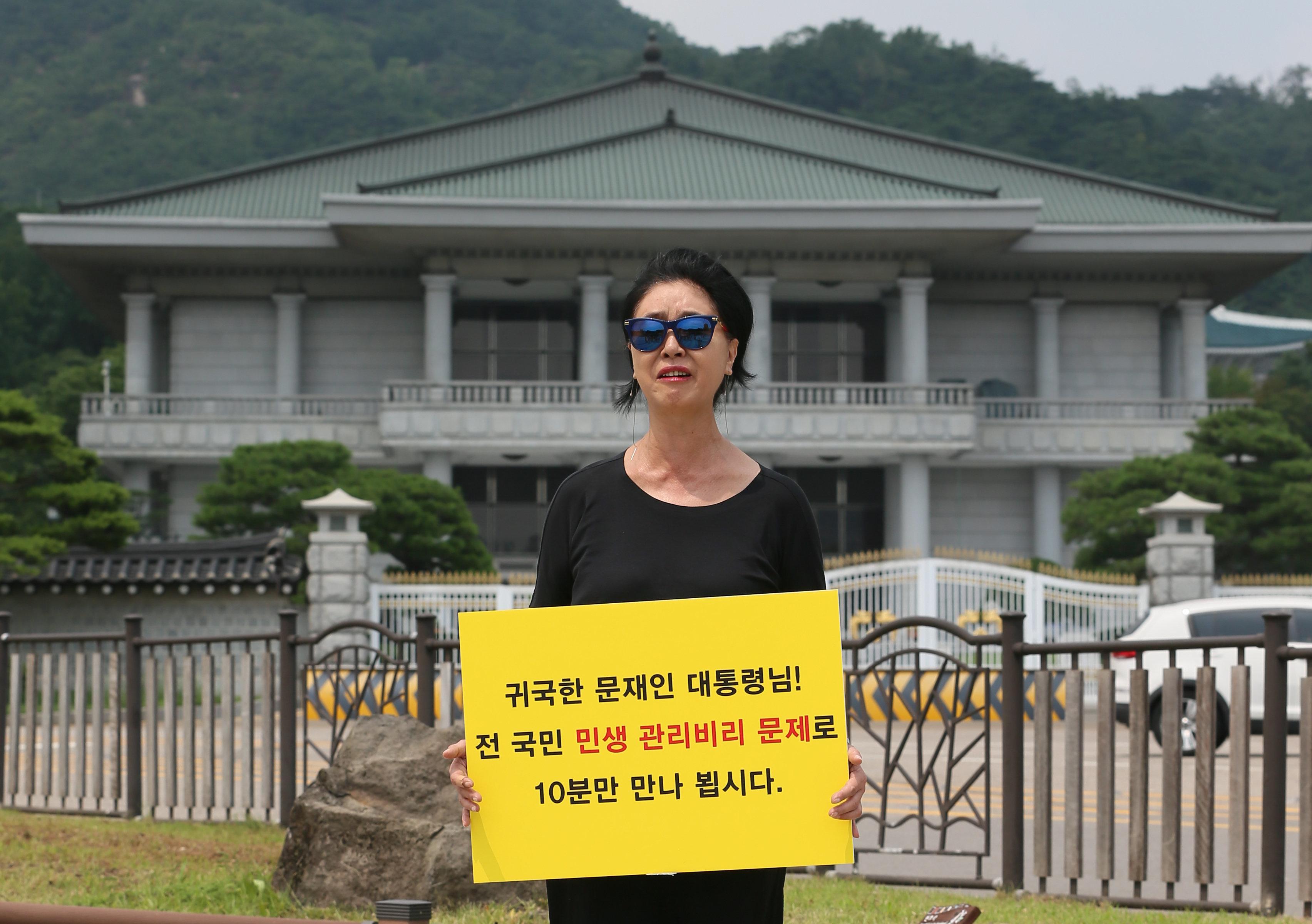 """김부선이 """"이재명 본인이 직접 나를 고소하라""""고 촉구한 이유 분석"""