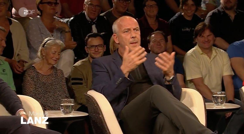 """""""Markus Lanz"""": So verteidigt Basler seinen """"Frosch""""-Angriff auf Özil"""