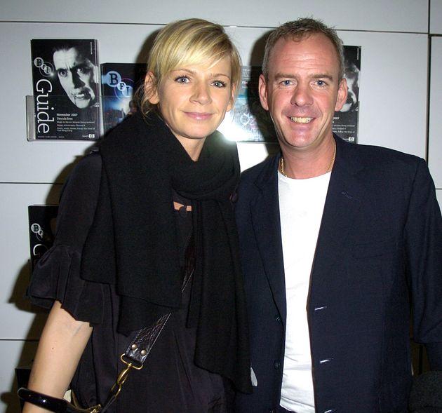 Zoe split from husband Norman Cook in
