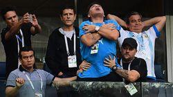 Il était dans un état second après le but de Messi...et K.O dans la