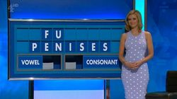 Rachel Riley's Face Says It All As She Spells Out 'Penises' On