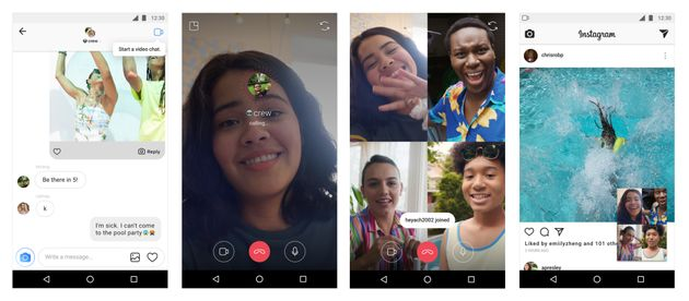 Est-ce que l'appel vidéo d'Instagram est différent de FaceTime ou de