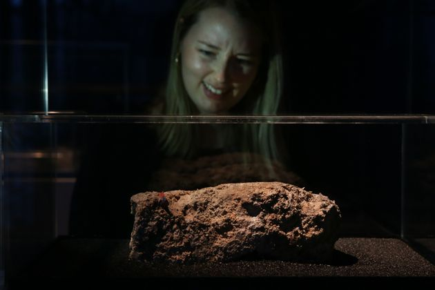 The Museum Of London Wants To Preserve This Slice Of Fatberg For Future