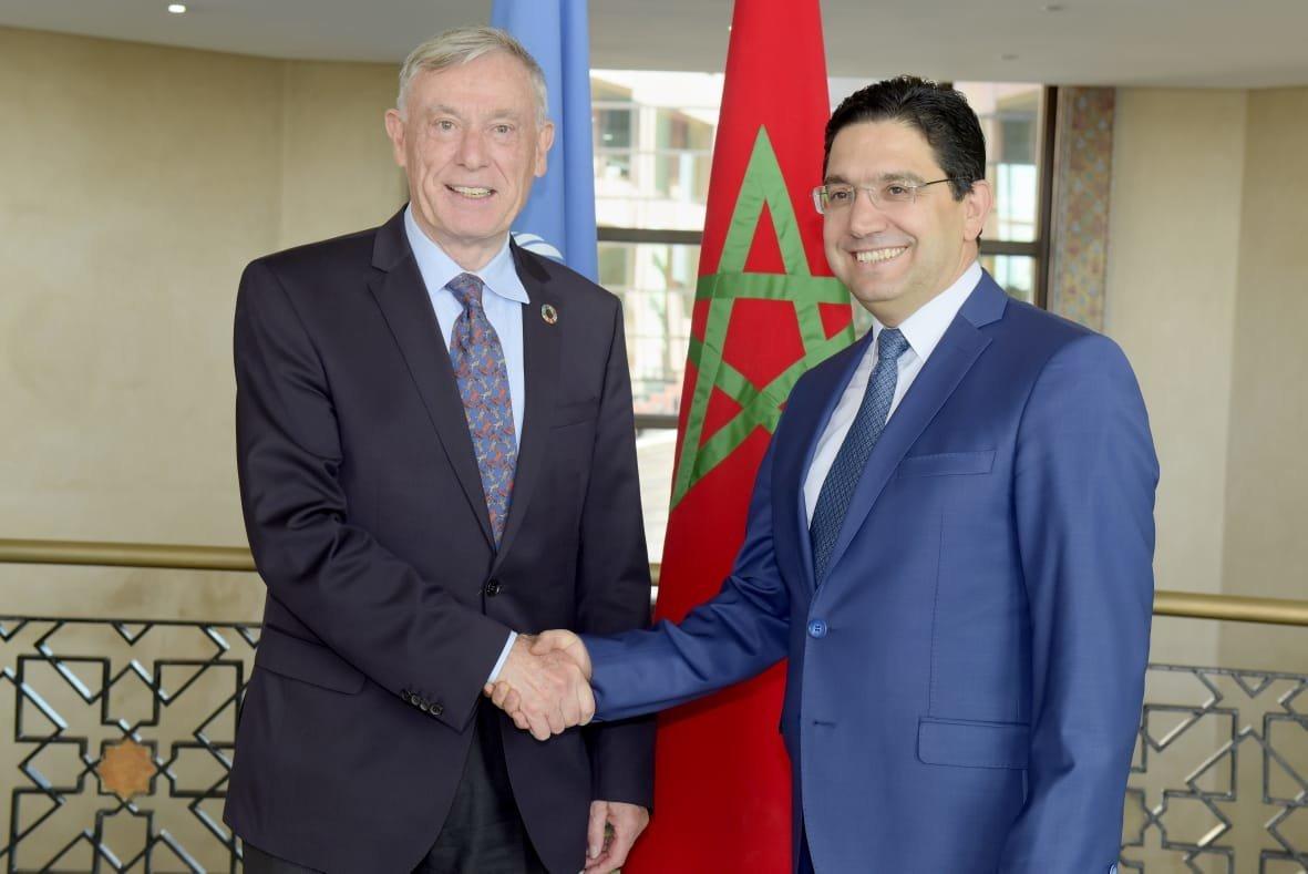 L'envoyé personneldu Secrétaire général de l'ONU pour le Sahara,...