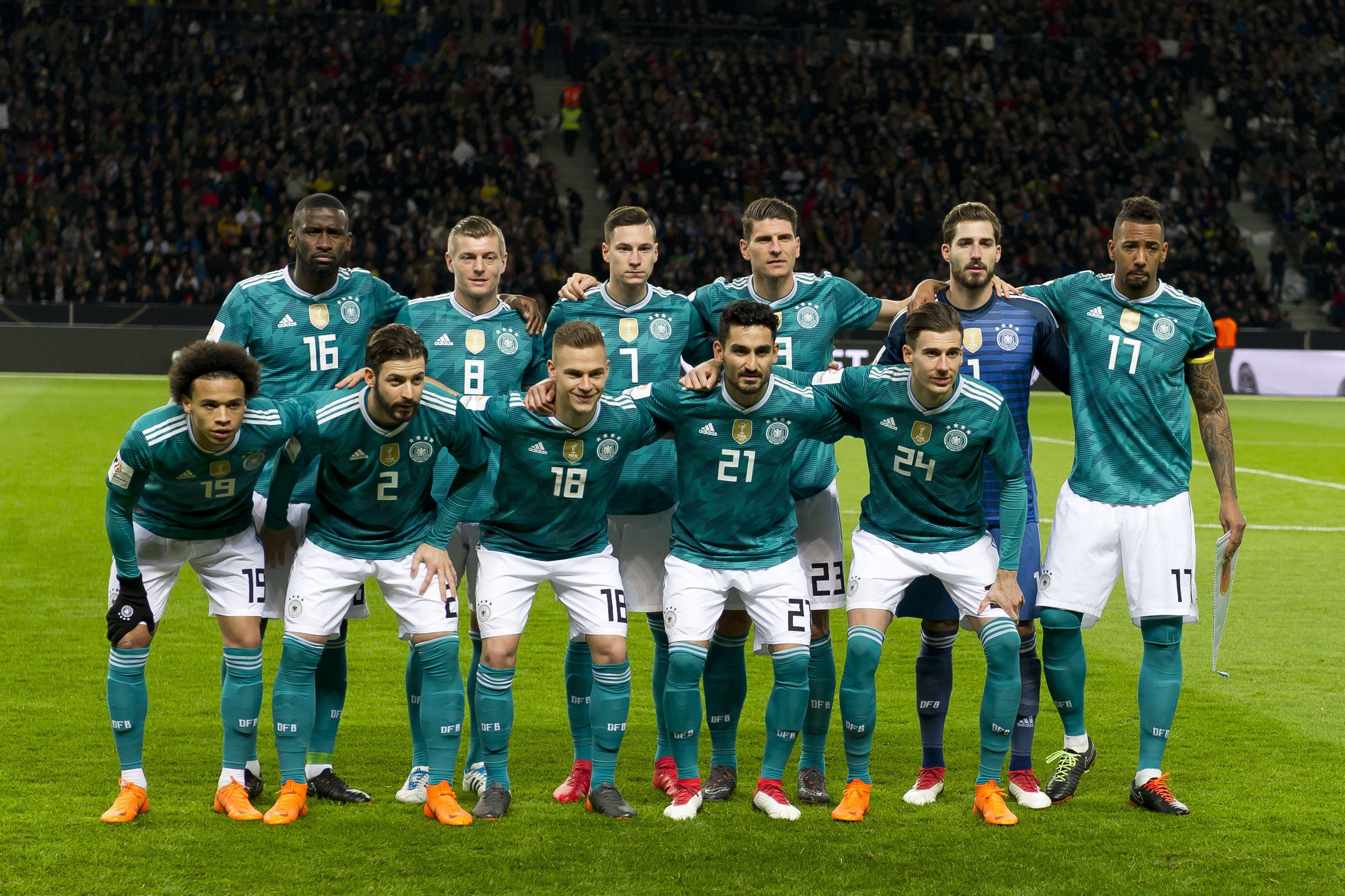 Darum spielt Deutschland gegen Südkorea in grünen
