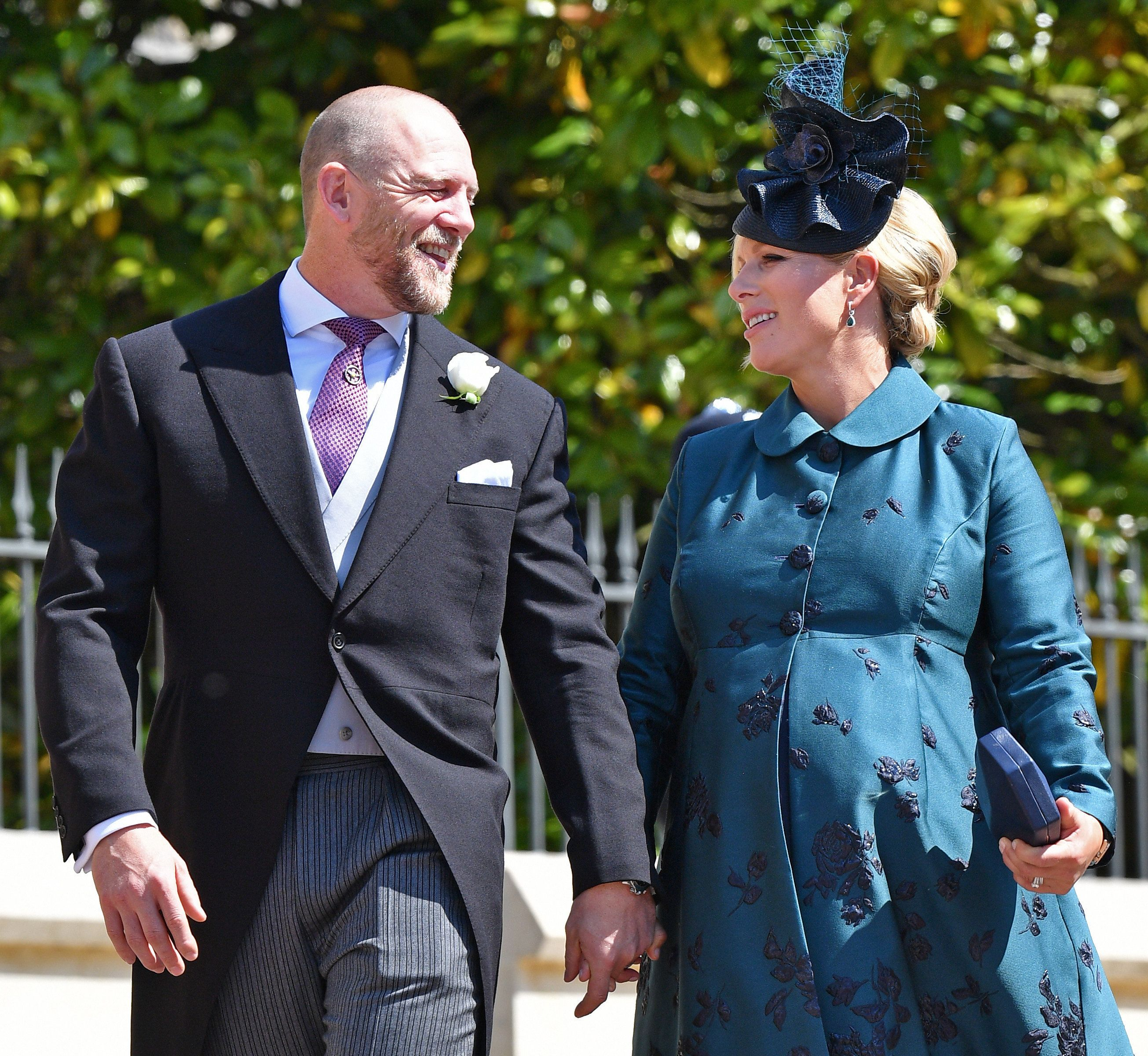 Zara And Mike Tindall Reveal Baby Daughter's
