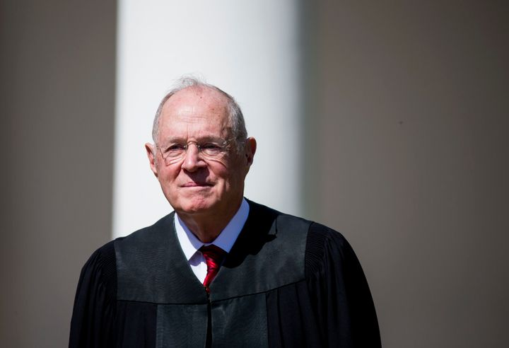 Justice Anthony Kennedy joined the Supreme Court's more conservative justices in all of the cases split 5-4 along ideological