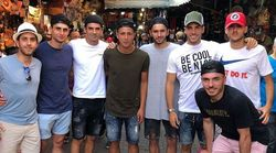 Les fils Zidane en mode détente à