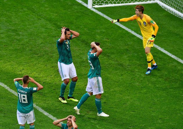 L'Allemagne éliminée de la Coupe du