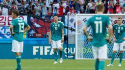 L'Allemagne éliminée de la Coupe du monde 2018 après sa défaite face à la Corée du