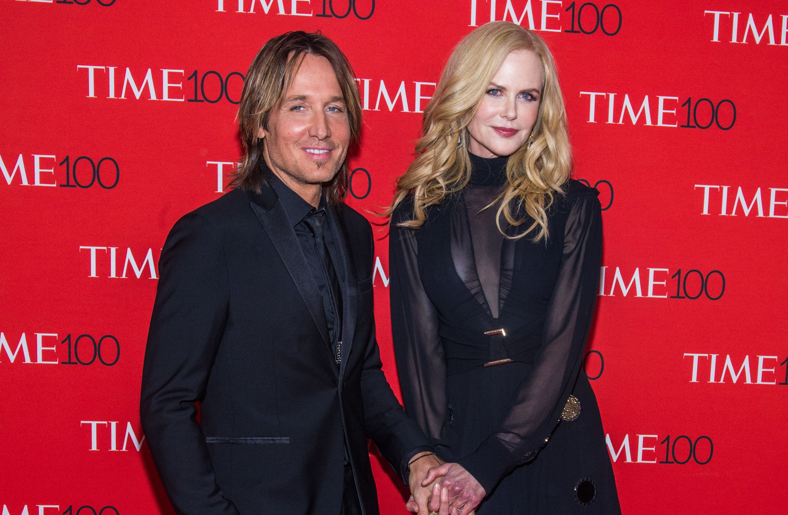 Keith Urban and Nicole Kidman at the 2018 Time 100 Gala on April 24 in New York City.