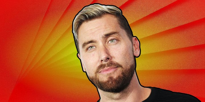 Lance Bass prioritizes a positive attitude in his morning routine.
