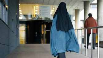 On 1st December 2014 in Hague, Netherlands, people are seen arriving and leaving the court where seven young men are being accused of recruiting young Muslims to take part in the jihad in Syria. Four of the men, Azzedine C., Oussama C., Rudholp H., and Hicham el O. today had a pro-forma hearing. Three other jihad recruiters whose cases have been handled earlier in november today received their sentences. Only one received a prison sentence. (Photo by Jaap Arriens/NurPhoto) (Photo by NurPhoto/NurPhoto via Getty Images)